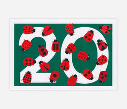 20th Anniversary Postcard