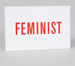 Card Carrying Feminist