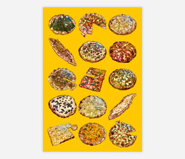 Pizza Party (Yellow)