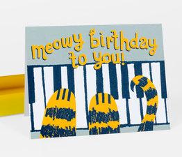 Meowy Birthday to You!