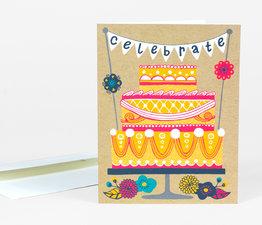Celebrate Wedding Cake