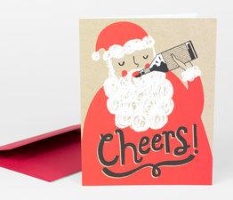 Santa Cheers