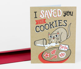Saved You the Cookies