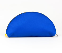 Cobalt Semi-Circle Clutch