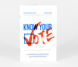 Biff Boff Bam Sock #9: Know Your Vote