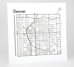 Circle Map of Denver