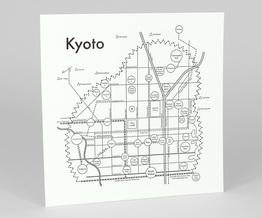 Circle Map of Kyoto