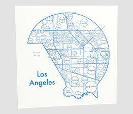 Circle Map of Los Angeles