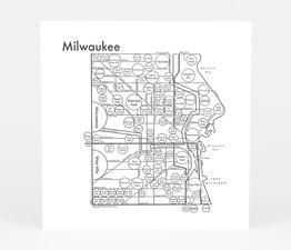 Circle Map of Milwaukee