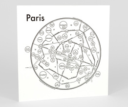 Circle Map of Paris