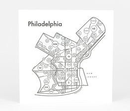Circle Map of Philadelphia