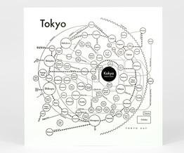Circle Map of Tokyo