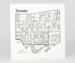 Circle Map of Toronto