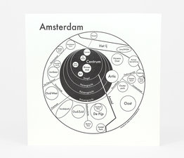 Circle Map of Amsterdam