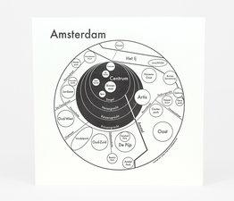 Circle Map of Amsterdam