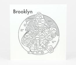 Circle Map of Brooklyn