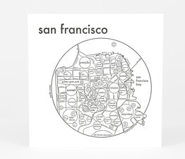 Circle Map of San Francisco