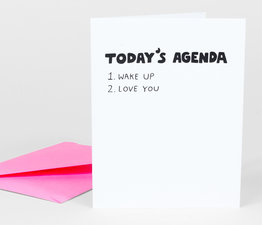 Today's Agenda