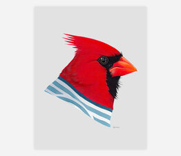 Cardinal (Striped Sweater)