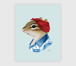 Chipmunk Lady