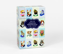 Animal Portraits Memory Game