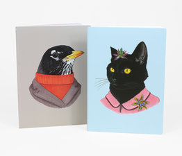Animal Portraits Notebooks