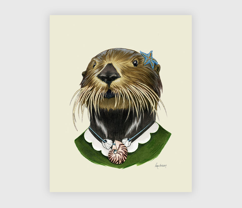 Otter Lady At Buyolympia.com