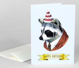 Happy Birthday Raccoon