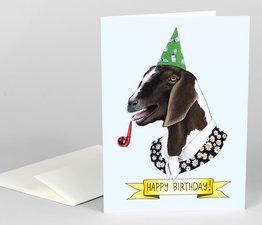 Happy Birthday Goat