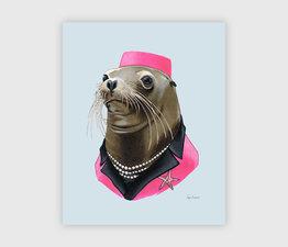 Sea Lion Lady