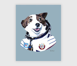Strelka The Space Dog