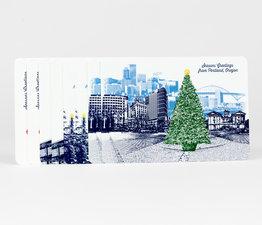 Portland Holiday Postcard Set