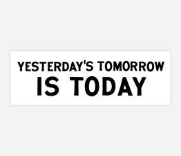 Yesterday's Tomorrow