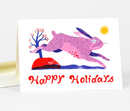 Happy Holidays Rabbit