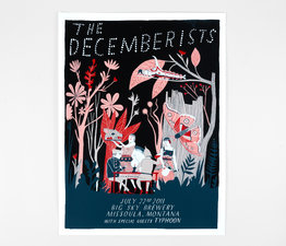 The Decemberists in Missoula, Montana