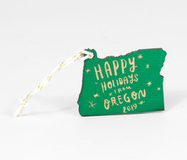 Happy Holidays from Oregon 2019 (Green)