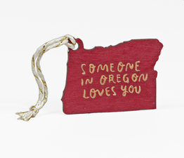 Someone in Oregon Loves You (Red)