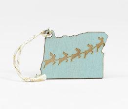 Seafoam Reindeer
