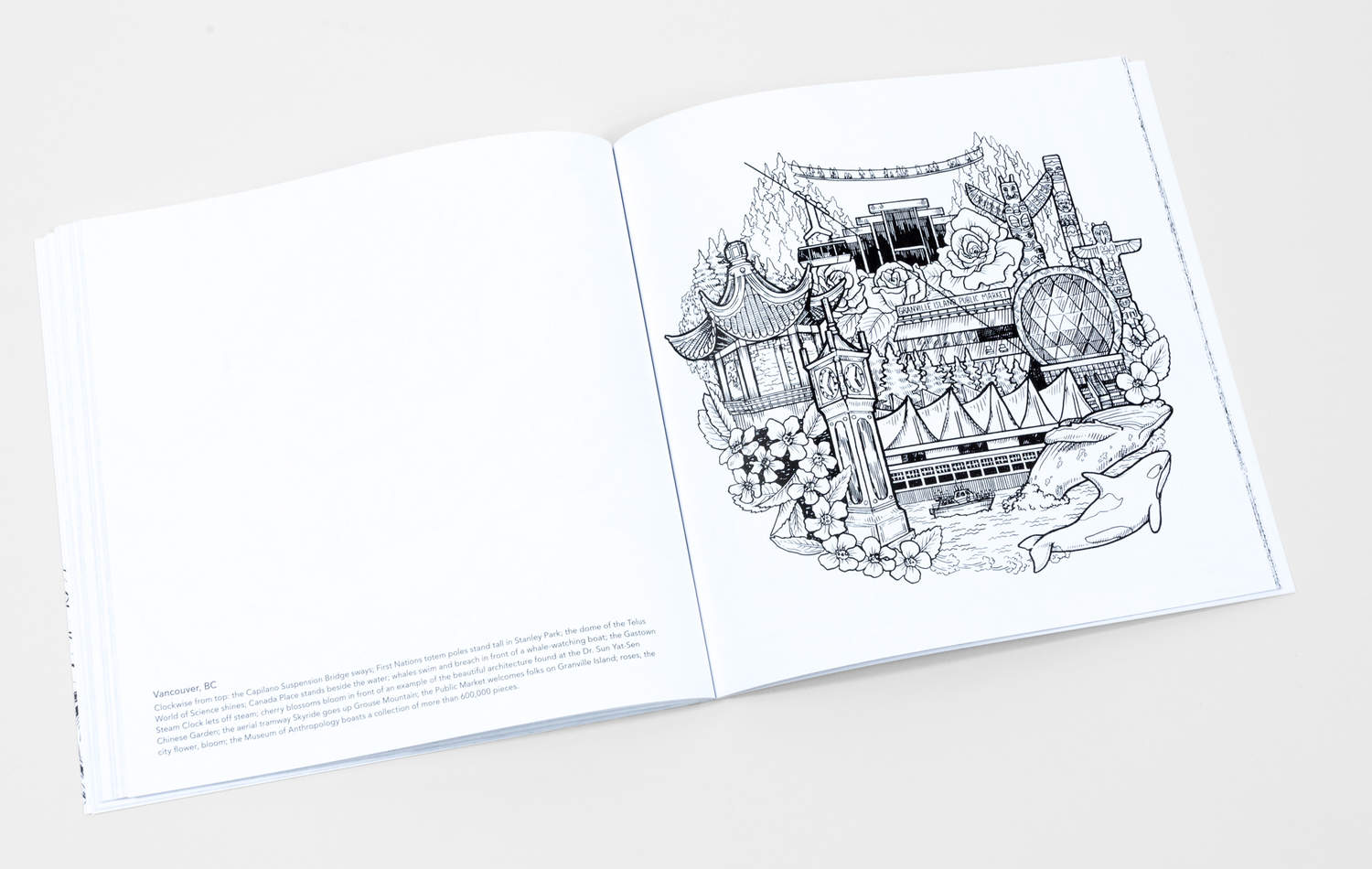 Zoe Keller Color The Pacific Northwest A Coloring Book