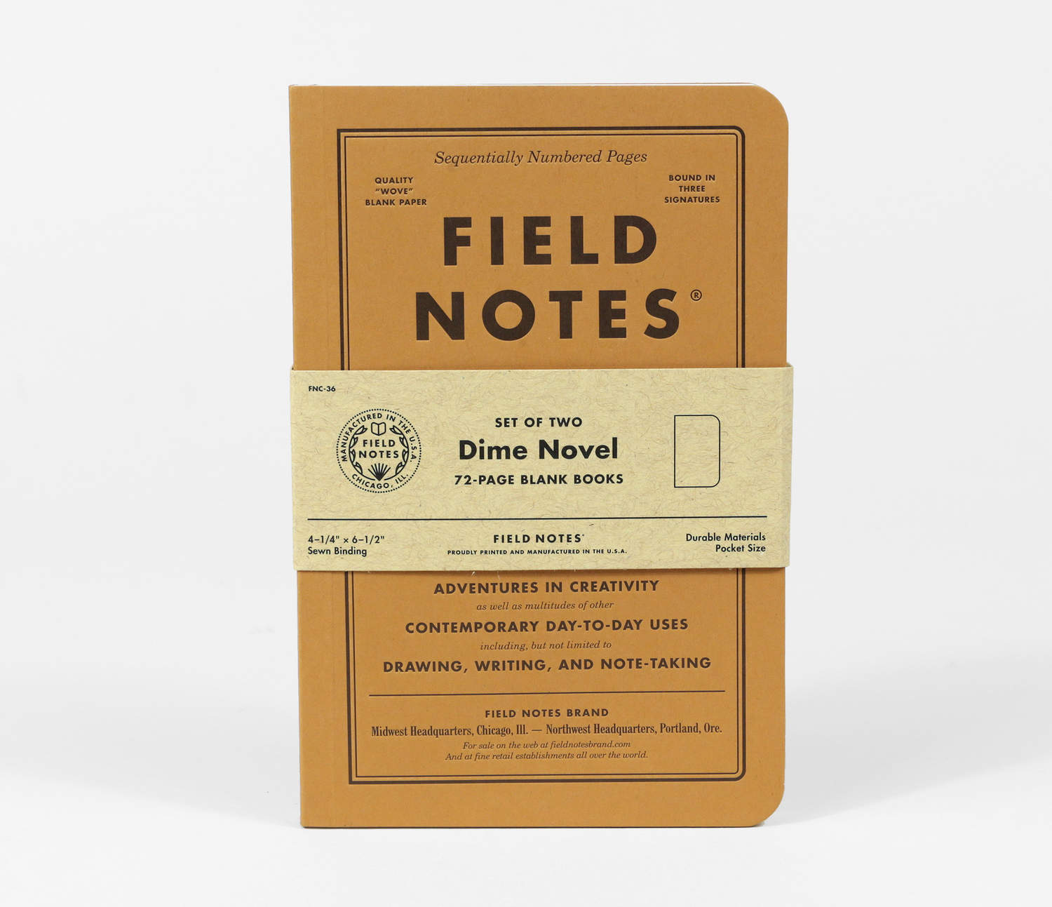 Field Notes Brand Dime Novel at buyolympia – Field Note
