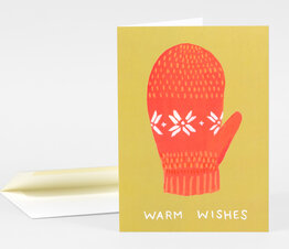 Warm Wishes Mitten