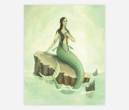 Imaginaries Mermaid