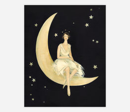 Imaginaries Moon Lady