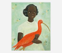 Scarlet Ibis Girl