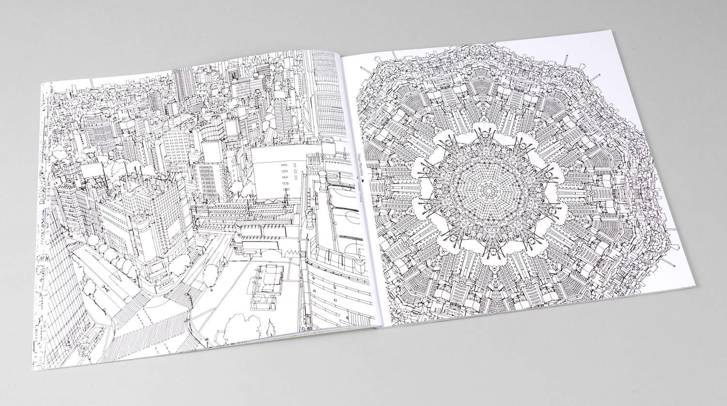Steve McDonald Fantastic Cities A Coloring Book
