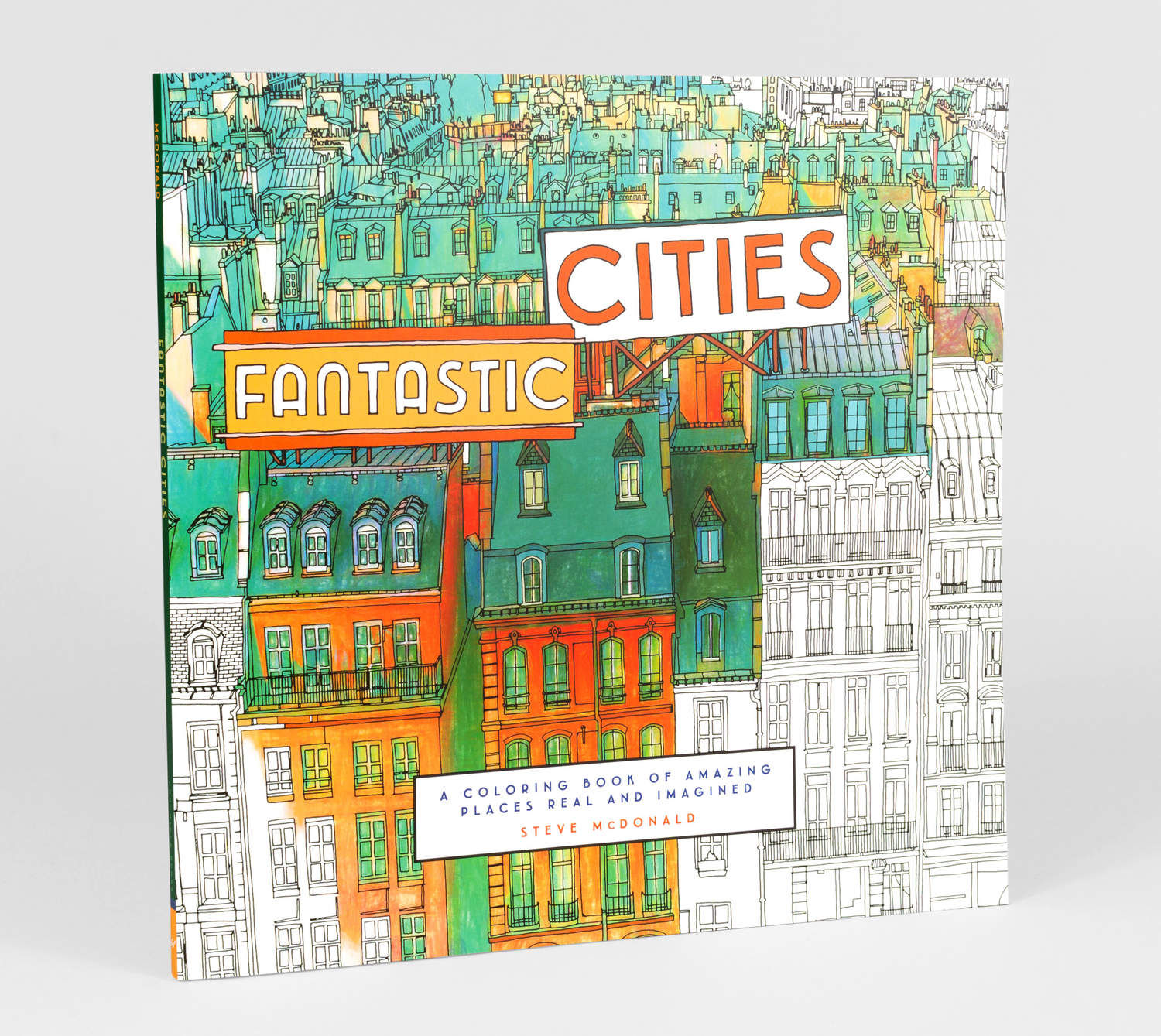 Product Image Steve McDonald Fantastic Cities A Coloring Book