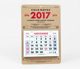 2017 Work Station Calendar