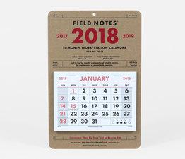 2018 Work Station Calendar