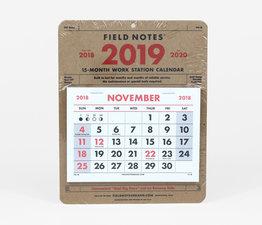 2019 Work Station Calendar