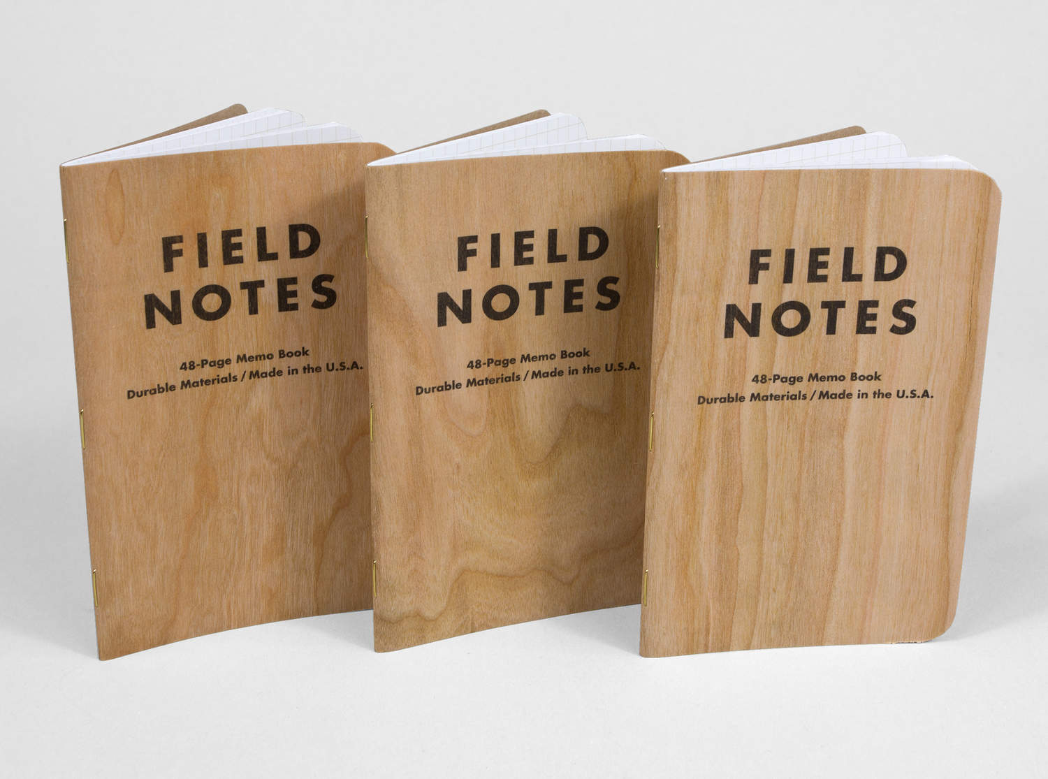 Field Notes Brand Three Cherry Wood at buyolympia – Field Note